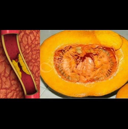 Есенно пречистване с тиква - 1 месец годишно и всички кръвни показатели влизат в норма!