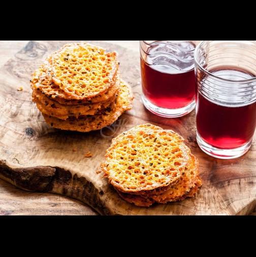 Божествен чипс от кашкавал - новата страст на мъжете и изкушение за жените! Хрупкав, пикантен и много биричка пие: