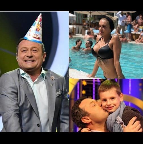 Рачков с таен купон за рождения ден - запозна новата си любима със сина си, който е 7 г по-малък от нея! (Снимки):