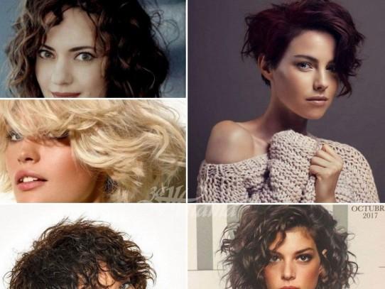 Прически за къдрава коса 2021