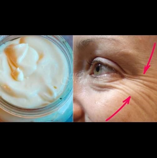 Мед + вазелин = вечно млада кожа без бръчки. Домашния крем..