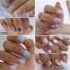 Най-нежните маникюри за къси нокти