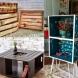 25 идеи за мебели от стари щайги (Снимки):