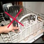 8 предмета, които никога не трябва да мием в съдомиялната, за да не съсипем и нея, и здравето си: