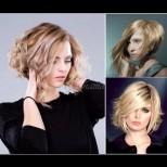 Боб-каскада на средна дължина - прическата-мечта, с която косата придобива ново великолепие (Снимки):
