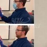 Снимки специално за тези, които смятат, че маските не помагат-Директор на държавна лаборатория по клинична микробиология