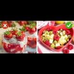 Заменете тези храни с правилните и ще стопите мазнините по корема и дупето без мъки и диети