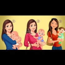 Коя жена не е истинска майка на детето, което държи? Избери и ще разбереш нещо интересно: