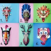 Изберете маска и разкрийте истинското си лице