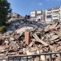 Мощно земетресение удари Турция и Гърция с големи разрушения и жертви усетено и у нас