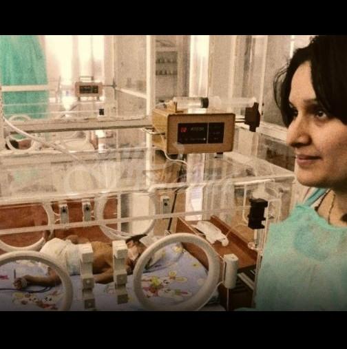 Заразена родилка, съпруга на починал от коронавирус, роди живо и здраво бебе