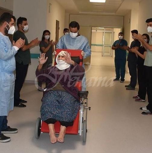 Баба на 120 години пребори коронавируса
