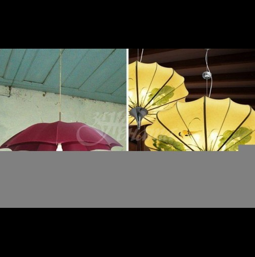 Красиви вещи от стар чадър (Снимки):
