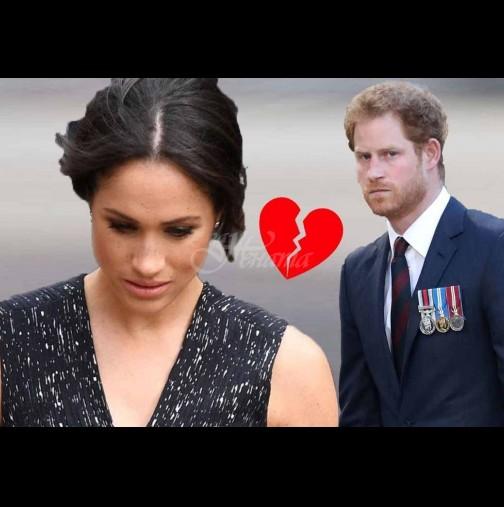 Фасадата се пропука: Ето истината за перфектния брак на Меган и Хари! (Снимки):