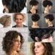 Модерни къси прически за чуплива коса и къдрава коса