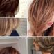 Стилни прически за средно дълга коса