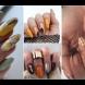 Магнетична колекция есенни маникюри (Снимки):