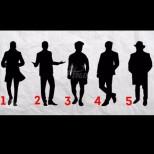Изберете мъжки силует и проверете какво ще откриете за себе си!