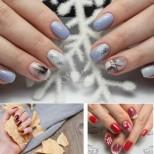 стилни и красиви маникюри за къси нокти, с най-модерните мотиви