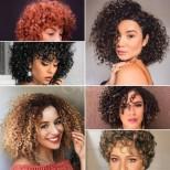 Красиви прически за къдрава къса и средна коса