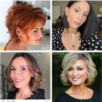 11 Дамски прически 2021 г. за жени над 50 години, които спират дъха и свалят 10 години на мига!