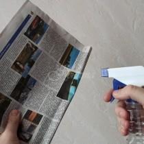 Взе един вестник, напръсках го с вода и сложих в хладилника, от този момент забравих какво е лоша миризма