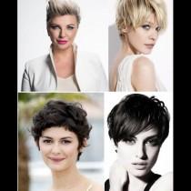 Гарсон - късата прическа на женствеността! 22 наелектризиращо красиви варианта - от нахакан до елегантен (Снимки):