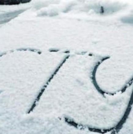 Първият сняг идва!