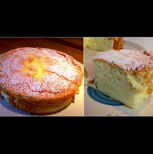 Ефирно лека торта с кисело мляко без брашно - нежна, кремообразна и вълшебно вкусна!