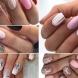 Стилни идеи за маникюр за къси нокти