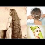 Бабина тайна за дълга до кръста, гъста и лъскава коса: