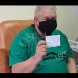 Първият лекар, ваксиниран в Хасково съобщи за лична трагедия