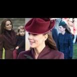 Звездните коледни визии на Кейт Мидълтън - ръководство по елегантност! (Снимки):