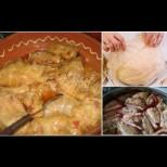 На Бъдни вечер са постни, ама на Коледа всички ядат тези Касапски сарми - зеле, мръвка и чуден сос: