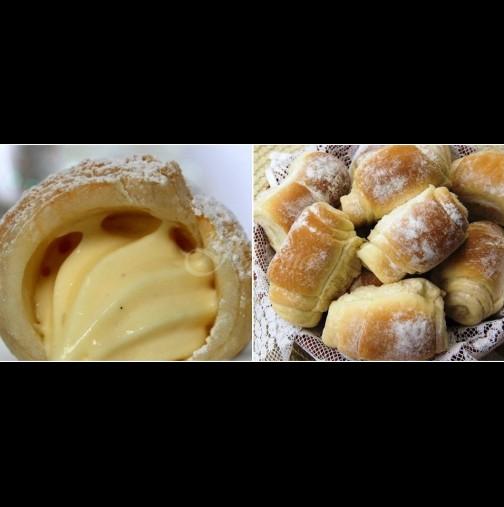 Божествени домашни кремки - като нищо мога да изям цялата тава - тесто като памук и крем като кадифе: