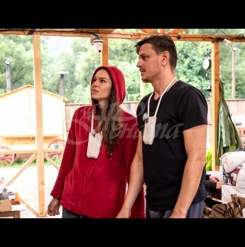 """Отхвърленият Данчо скрои пъклен план за Даяна и Петър във """"Фермата"""" (Снимки):"""