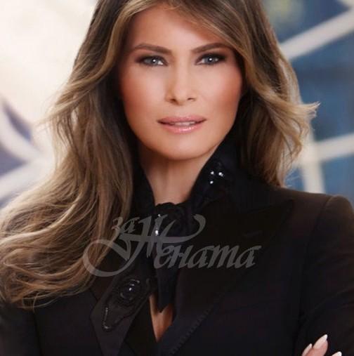 Ето как Мелания украси Белия дом за последен път (снимки)