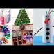 Коледна украса от отпадъчни материали (Снимки):