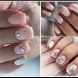Зимни дизайни за късите нокти (Снимки):
