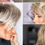 Модни цветове за коса за блондинки 2021 за дами на 40-50 години
