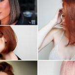 Прически за средна коса 2021 тенденция
