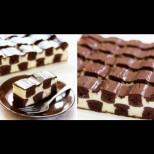 Копринена шахматна торта - съблазнителна до последното квадратче! Нежен кремообразен разкош: