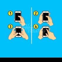 Начинът, по който държите телефона си, говори много за вашата личност