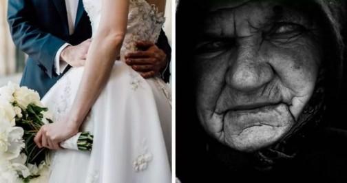 На сватбата дойде непозната възрастна жена. Никой не й обърна внимание, докато не започнаха да се редуват да поздравленията