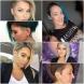 15 стилни асиметрични прически без бретон 2021