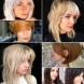 12 модерни прически с бретон за рядка коса 2021 г., които гарантират успех