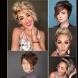 Обемни прически за къса коса - 17 очарователни варианта (Снимки):