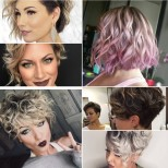 Прическа боб за къдрава коса 2021