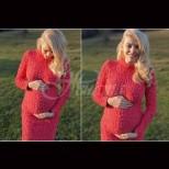 Ева Веселинова с първа фотосесия с бебоците (Снимки):
