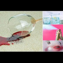 4 подръчни средства, с които да премахнеш бързо петната от червено вино: